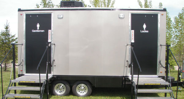 bathroom trailers. Executive Restroom Trailers \u0026 Portable Toilet Bathroom E