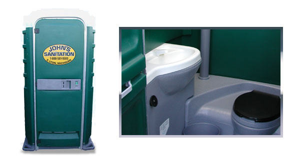 Deluxe Flushable Toilets