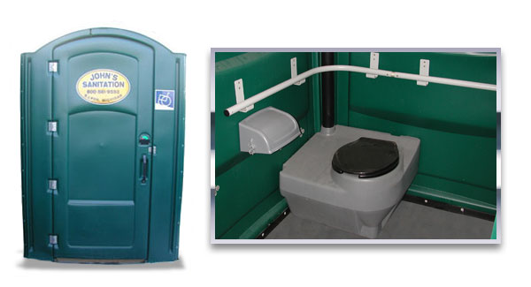 ADA and Handicap Portable Toilets