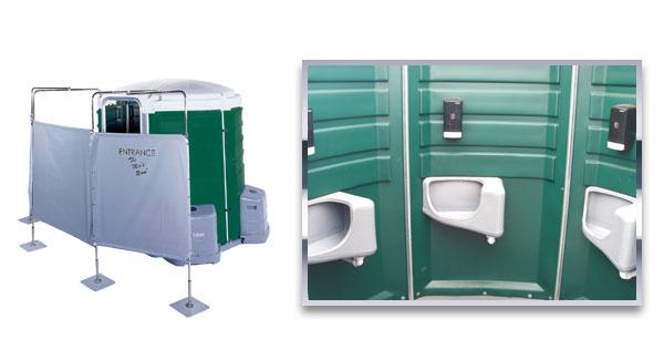 Mens Room Urinal Toilets